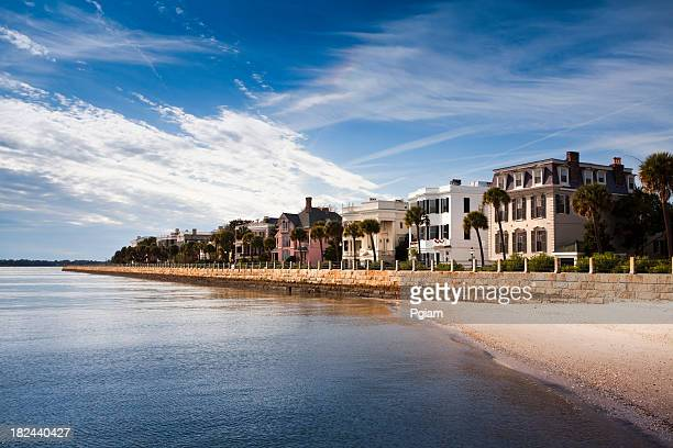 charleston waterfront in the morning - template_talk:south_carolina stock pictures, royalty-free photos & images