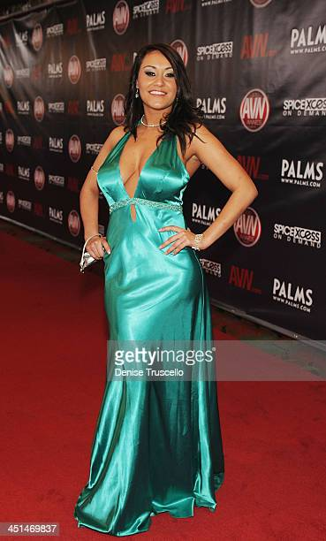Charley Chase Arrives At The  Avn Awards At The Pearl At The Palms Casino Resort