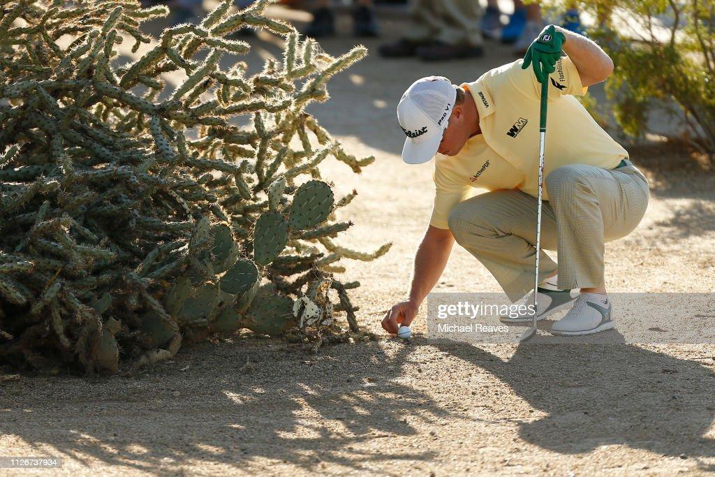 Waste Management Phoenix Open - Round Two : News Photo