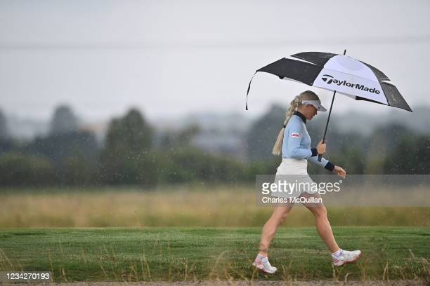 Charley Hull during the Pro Am event at The ISPS HANDA World Invitational at on July 28, 2021 in Ballymena, United Kingdom.