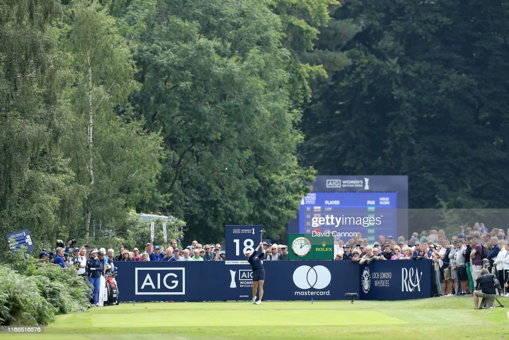 AIG Women's British Open - Day One : ニュース写真