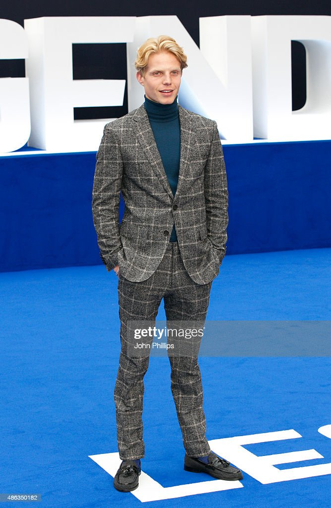 Charley Palmer attends the UK Premiere of 'Legend' at Odeon Leicester Square on September 3, 2015 in London, England.