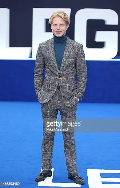 Charley Palmer attends the UK Premiere of Legend at Odeon Leicester Square on September 3 2015 in London England