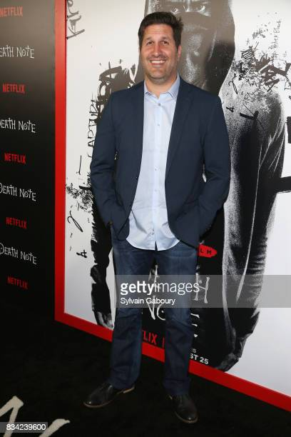 Charley Parlapanides attends Death Note New York Premiere at AMC Loews Lincoln Square 13 theater on August 17 2017 in New York City
