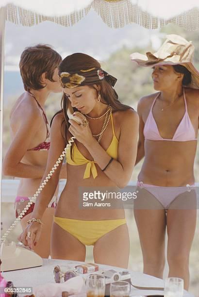 Charley Weaver at the Las Brisas resort in Acapulco Mexico 1972
