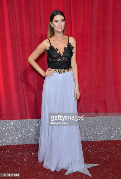 Charley Webb attends the British Soap Awards at The Lowry Theatre on June 3 2017 in Manchester England