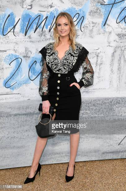 Charli Fisher attends The Summer Party 2019 Presented By Serpentine Galleries And Chanel at The Serpentine Gallery on June 25 2019 in London England