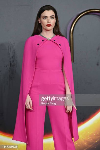 """Charli Howard attends the """"Dune"""" UK Special Screening at Odeon Luxe Leicester Square on October 18, 2021 in London, England."""