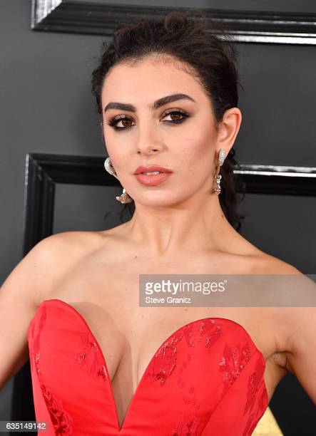 Charli XCX arrives at the 59th GRAMMY Awards on February 12 2017 in Los Angeles California