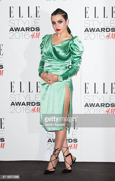 Charli XCX attend The Elle Style Awards 2016 on February 23 2016 in London England