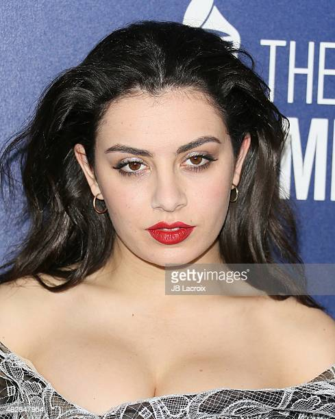 Charli XCX attends a celebration of the 57th annual GRAMMY Awards hosted by Delta Air Lines the official airline of the GRAMMY Awards with a private...