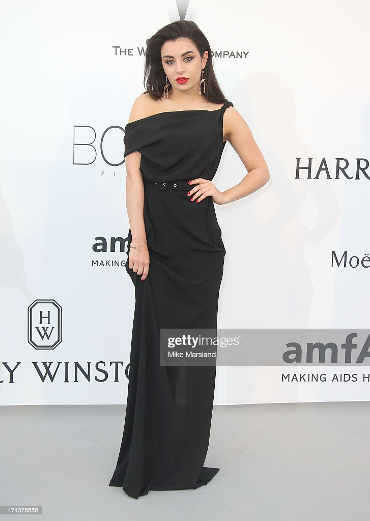Charli XCX attends amfAR's 22nd Cinema Against AIDS Gala, Presented By Bold Films And Harry Winston at Hotel du Cap-Eden-Roc on May 21, 2015 in Cap d'Antibes, France.