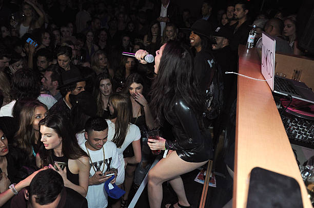 galore celebrates the music issue with cover girl charli xcx at 1oak
