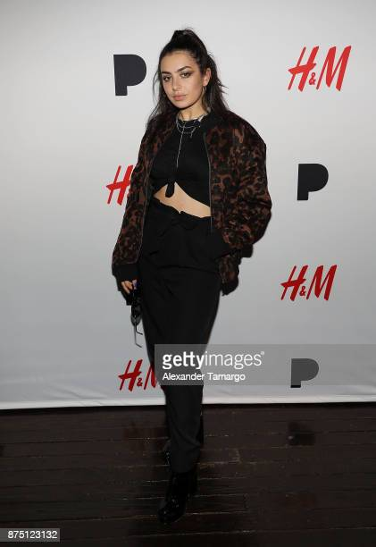 Charli XCX attends HM Presents Charli XCX Powered By Pandora on November 16 2017 in Fort Lauderdale Florida