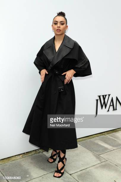 Charli XCX attends JW Anderson at Yeomanry House during LFW February 2020 on February 17 2020 in London England