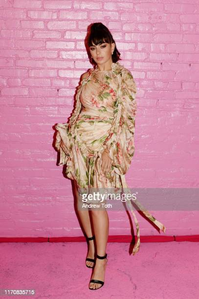 Charli XCX attends Pandora Street Of Loves on August 28 2019 in Los Angeles California