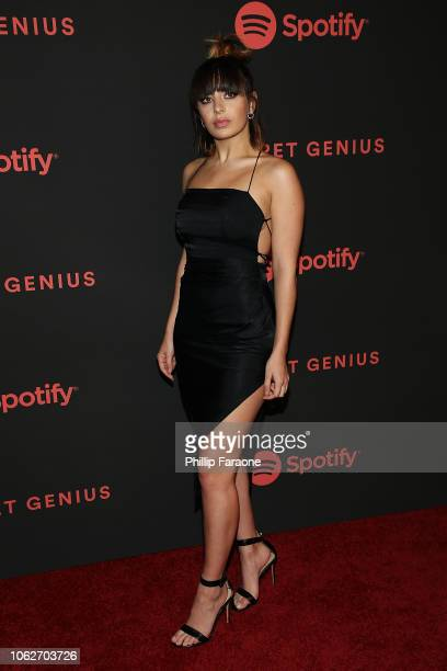 Charli XCX attends Spotify's 2nd annual Secret Genius Awards at The Theatre at Ace Hotel on November 16 2018 in Los Angeles California