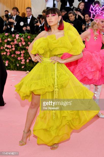 Charli XCX attends The 2019 Met Gala Celebrating Camp: Notes on Fashion at Metropolitan Museum of Art on May 06, 2019 in New York City.