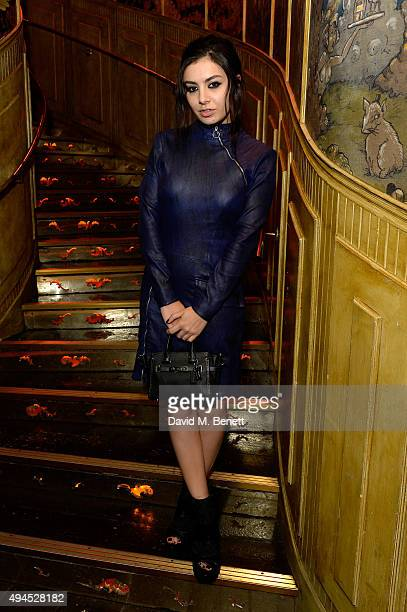 Charli XCX attends the Al Films and Warner Music After party of Kill Your Friends at The Box Soho on October 27 2015 in London England