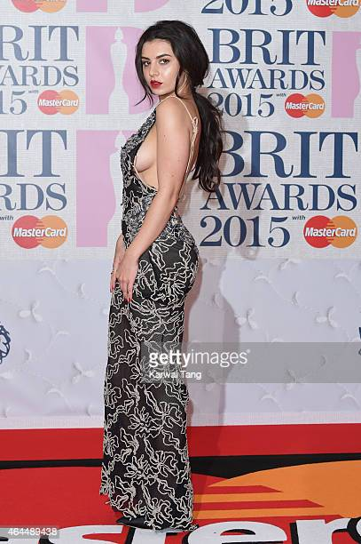Charli XCX attends the BRIT Awards 2015 at The O2 Arena on February 25 2015 in London England