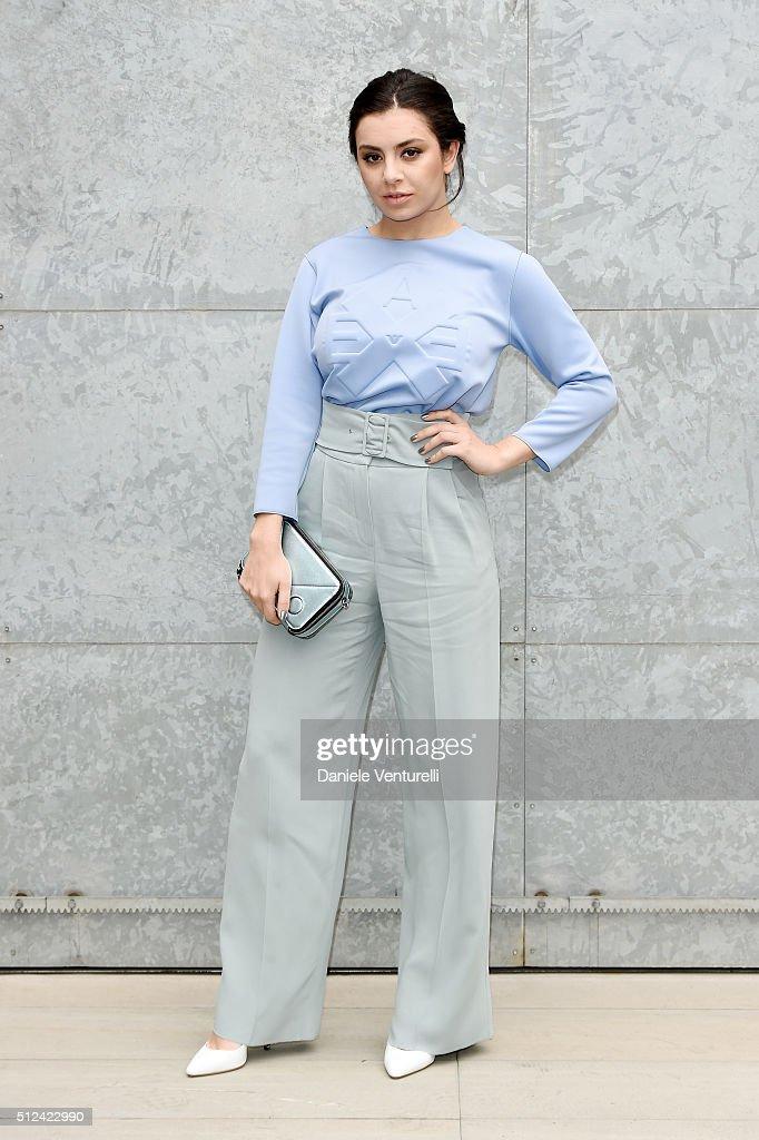 Emporio Armani - Front Row - Milan Fashion Week  FW16