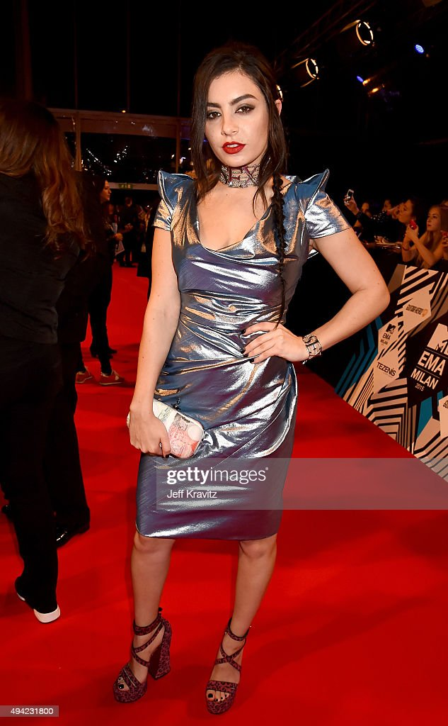 Charli XCX attends the MTV EMA's 2015 at Mediolanum Forum on October 25, 2015 in Milan, Italy.