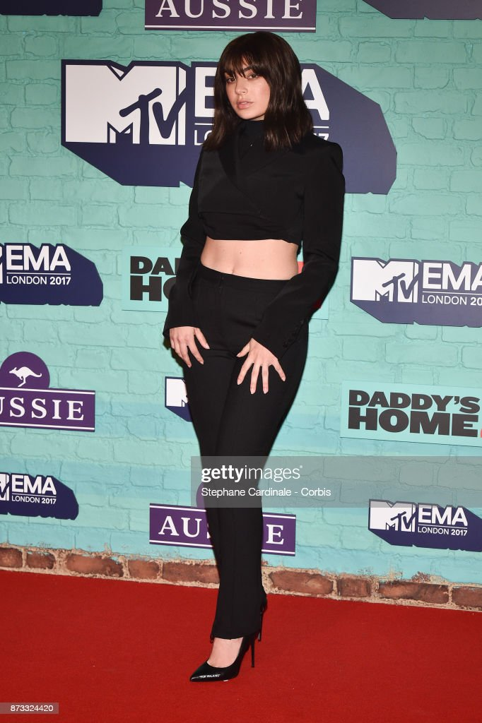 Charli XCX attends the MTV EMAs 2017 at The SSE Arena, Wembley on November 12, 2017 in London, England.
