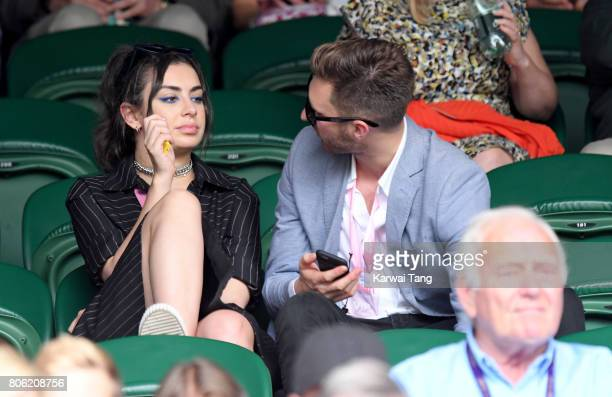 Charli XCX attends the opening day of Wimbledon 2017 on July 3 2017 in London England