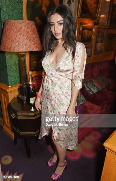 Charli XCX attends the Rita Ora dinner and performance at Annabel's on June 27 2017 in London England