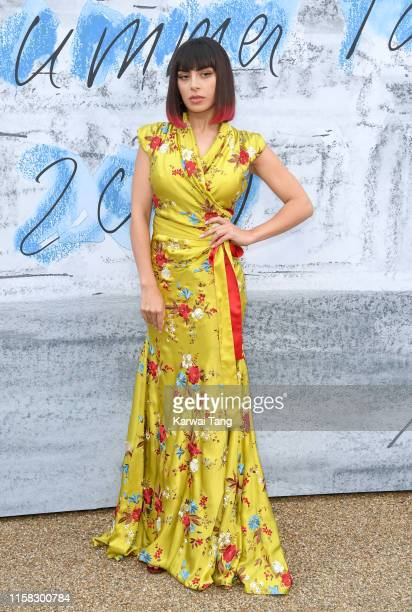Charli XCX attends The Summer Party 2019 Presented By Serpentine Galleries And Chanel at The Serpentine Gallery on June 25 2019 in London England