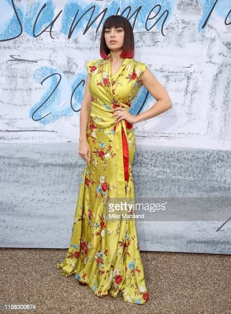 Charlie XCX attends The Summer Party 2019 Presented By Serpentine Galleries And Chanel at The Serpentine Gallery on June 25 2019 in London England