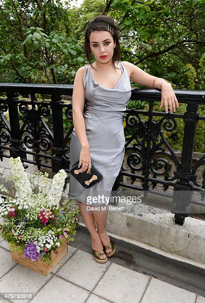 Charli XCX attends the Vivienne Westwood X The Cambridge Satchel Company collaboration launch party at One Horse Guards on July 7 2015 in London...