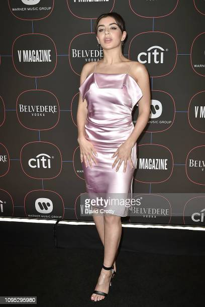 Charli XCX attends the Warner Music Group PreGrammy Celebration at Nomad Hotel Los Angeles on February 7 2019 in Los Angeles California