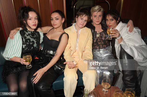Charli XCX Christine and the Queens aka Heloise Letissier and Robyn attend the NME Awards after party in association with Copper Dog at The Standard...
