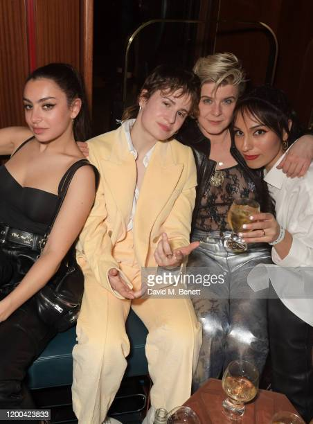 Charli XCX Christine and the Queens aka Heloise Letissier Robyn and guest attend the NME Awards after party in association with Copper Dog at The...