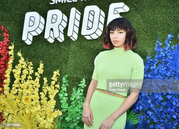 Charli XCX: Live From The Artists Den WorldPride at Pier 17 on June 27, 2019 in New York City.