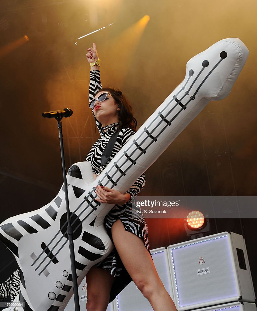 Charli XCX performs during day 1 of the 2015 Governors Ball Music Festival at Randall's Island on June 5, 2015 in New York City.