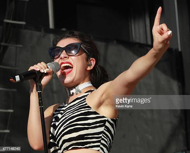 Charli XCX performs during the BLI Summer Jam 2015 at Nikon at Jones Beach Theater on June 13, 2015 in Wantagh, New York.