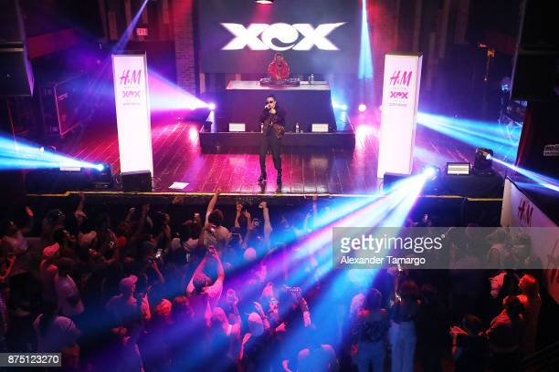 Charli XCX performs live at HM Presents Charli XCX Powered By Pandora on November 16 2017 in Fort Lauderdale Florida