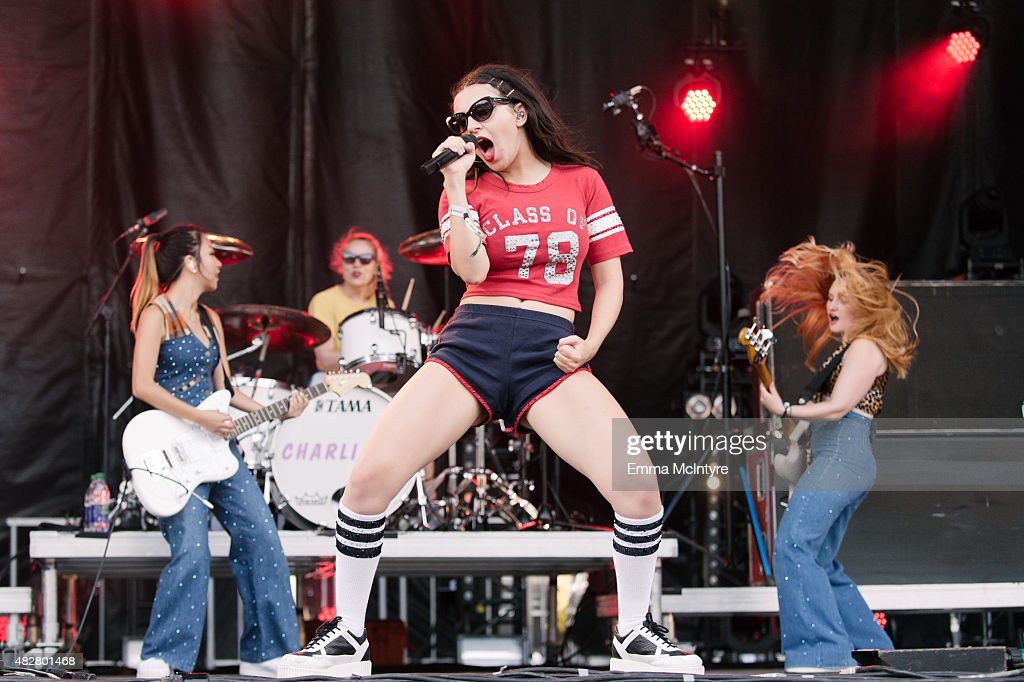 Charli XCX performs on Day Three of the Osheaga Music and Arts Festival on August 2, 2015 in Montreal, Canada.
