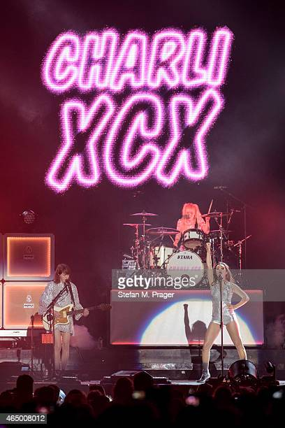 Charli XCX performs on stage at Olympiahalle on March 2 2015 in Munich Germany