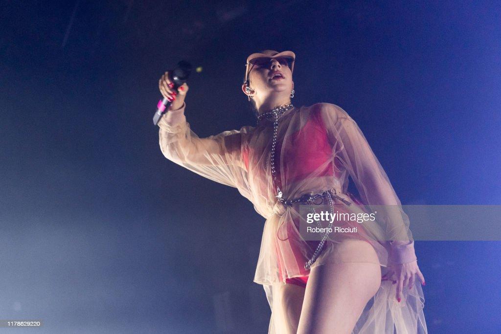 Charli XCX Performs At SWG3, Glasgow : News Photo