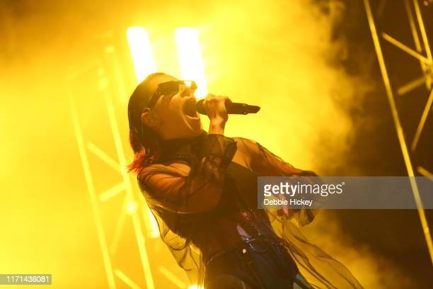 Charli XCX performs on stage during Electric Picnic Music Festival 2019 at Stradbally Hall Estate on August 31, 2019 in Stradbally, Ireland.