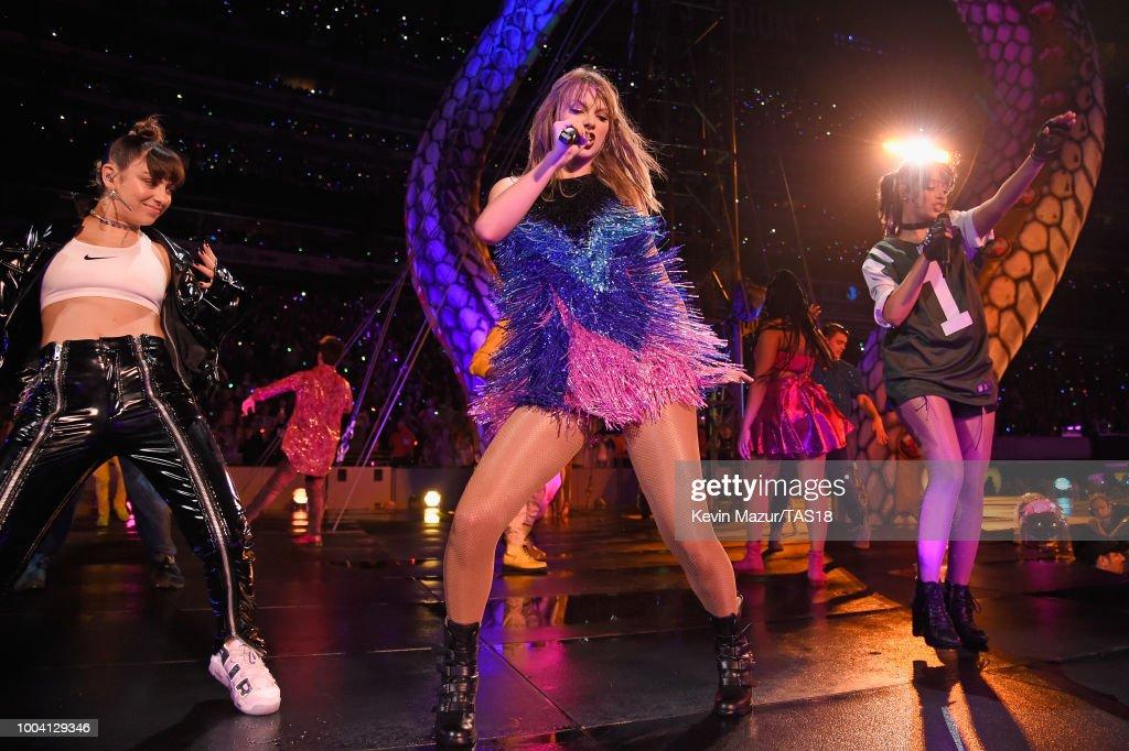 Taylor Swift reputation Stadium Tour : News Photo