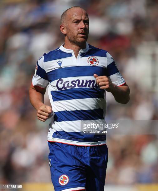 Charlie Adam of Reading in action during the Pre-Season Friendly match between Reading and Chelsea at Madejski Stadium on July 28, 2019 in Reading,...