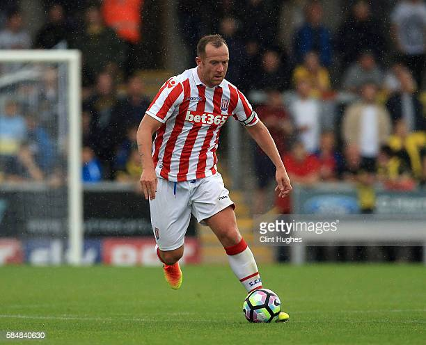 Charlie Adam of Stoke City during the Pre Season Friendly match between Burton Albion and Stoke City at the Pirelli Stadium on July 16 2016 in Burton...