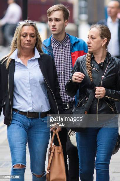 Charlie Alliston arrives for sentencing at the Old Bailey on September 18 2017 in London England Mr Alliston was found guilty of causing bodily harm...