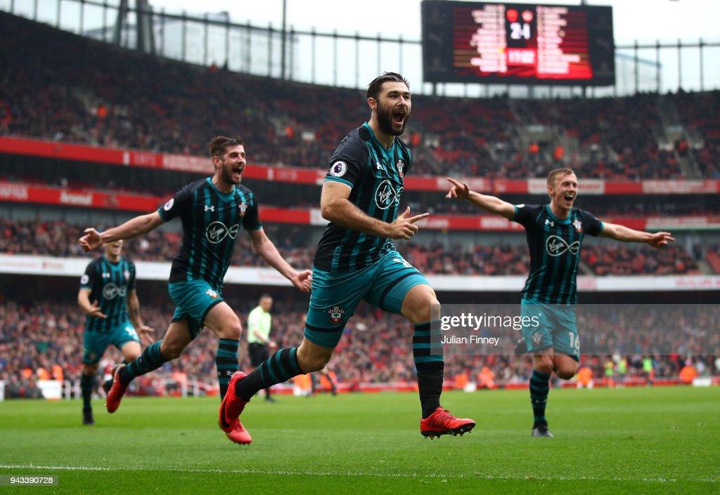 Arsenal v Southampton - Premier League : News Photo