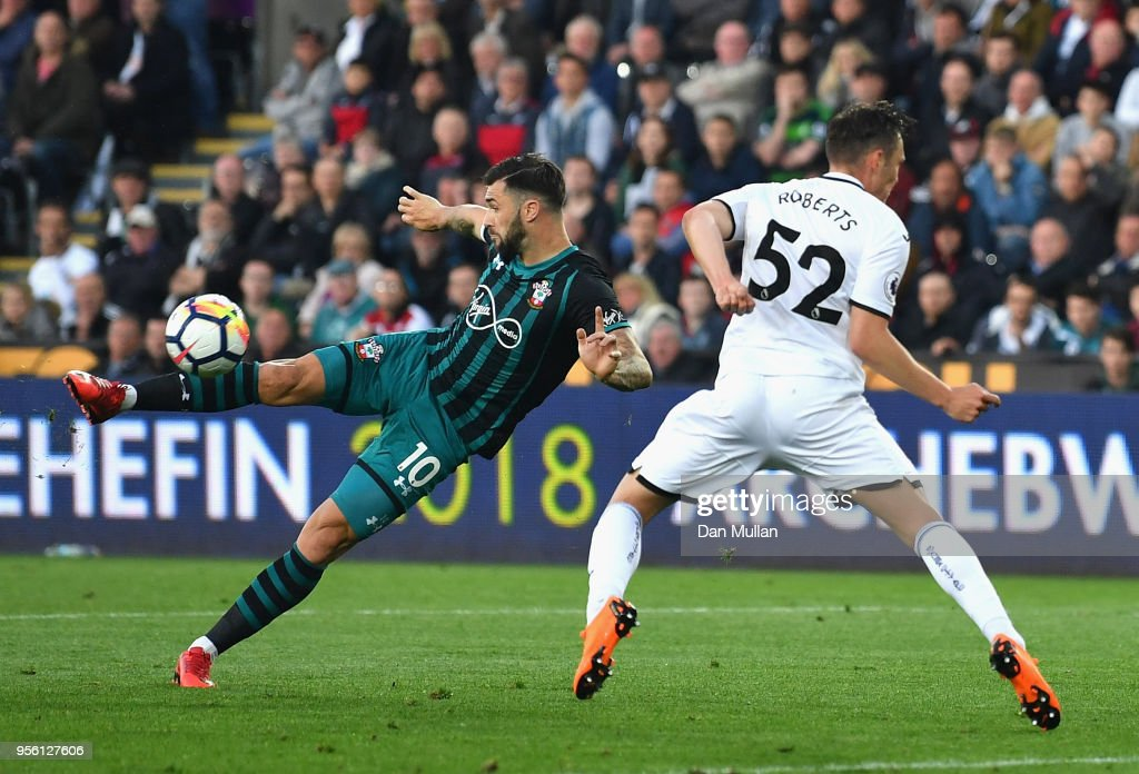 Swansea City v Southampton - Premier League : News Photo