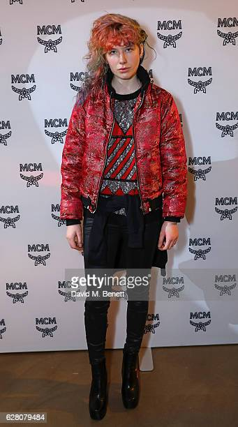 Charlie Barker attends MCM's London Flagship Opening Party on December 6 2016 in London England